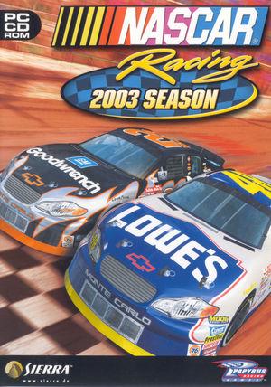 Cover for NASCAR Racing 2003 Season.