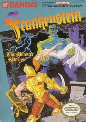 Cover for Frankenstein: The Monster Returns.