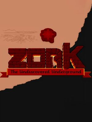 Cover for Zork: The Undiscovered Underground.