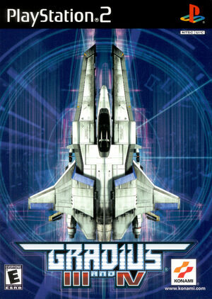 Cover for Gradius III and IV.