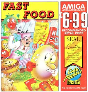 Cover for Fast Food.
