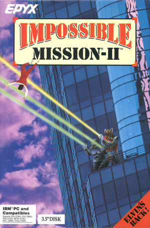 Cover for Impossible Mission II.