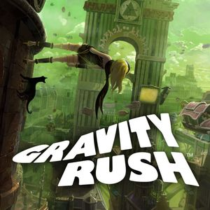 Cover for Gravity Rush.