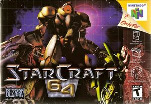 Cover for StarCraft 64.