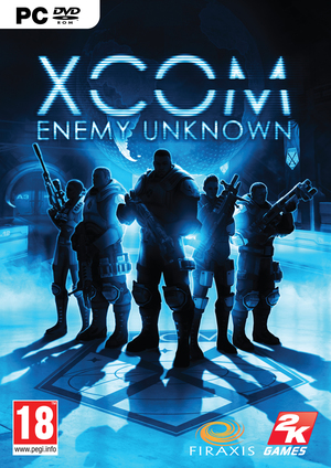 Cover for XCOM: Enemy Unknown.