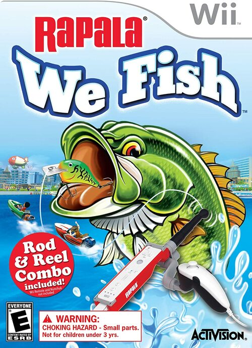 Cover for Rapala: We Fish.