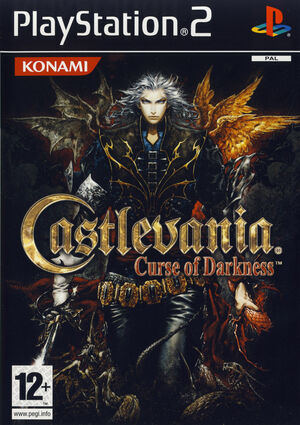 Cover for Castlevania: Curse of Darkness.