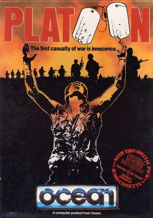 Cover for Platoon.