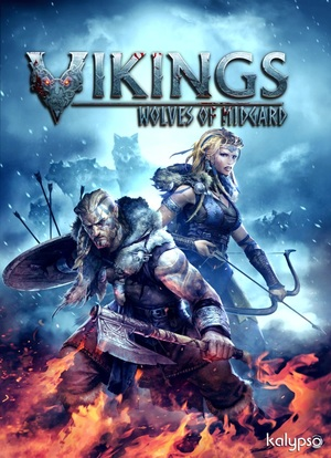 Cover for Vikings: Wolves of Midgard.