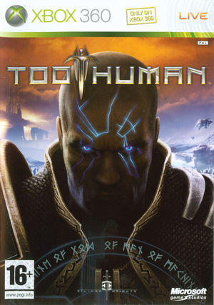 Cover for Too Human.