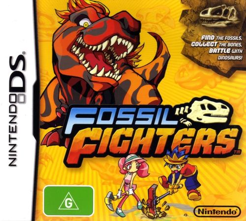 Cover for Fossil Fighters.