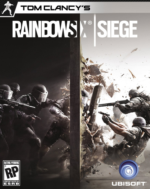Cover for Tom Clancy's Rainbow Six Siege.