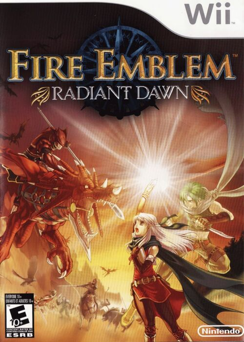 Cover for Fire Emblem: Radiant Dawn.