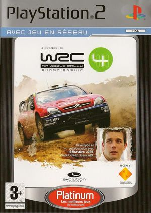 Cover for WRC 4.