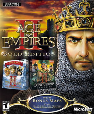 Cover for Age of Empires II: The Age of Kings.