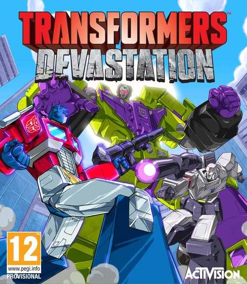 Cover for Transformers: Devastation.