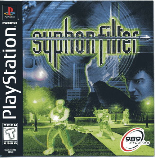 Cover for Syphon Filter.