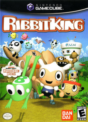 Cover for Ribbit King.