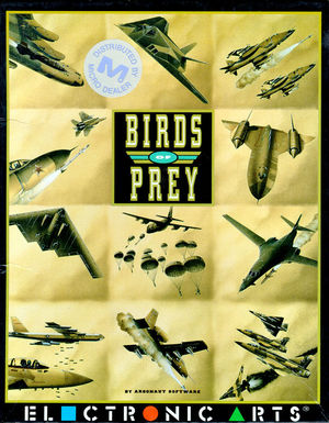 Cover for Birds of Prey.