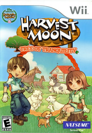 Cover for Harvest Moon: Tree of Tranquility.