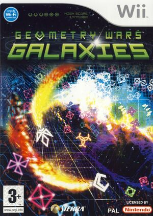 Cover for Geometry Wars: Galaxies.
