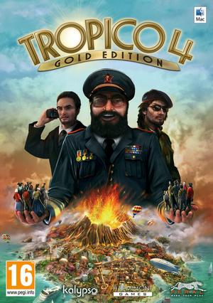 Cover for Tropico 4.