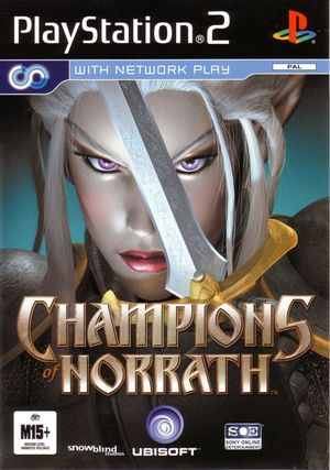 Cover for Champions of Norrath.