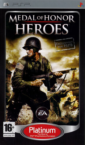 Cover for Medal of Honor: Heroes.