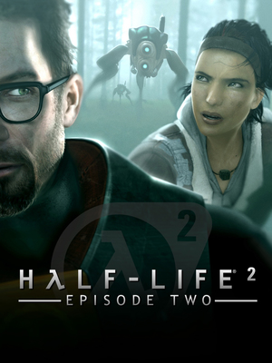 Cover for Half-Life 2: Episode Two.