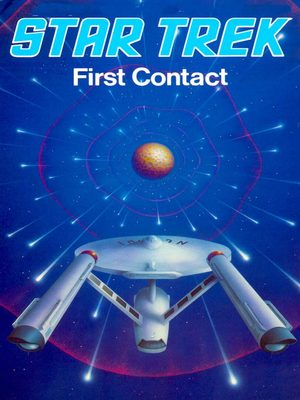 Cover for Star Trek: First Contact.