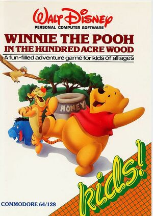 Cover for Winnie the Pooh in the Hundred Acre Wood.