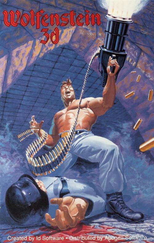 Cover for Wolfenstein 3D.