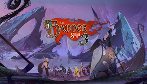 Cover for The Banner Saga 3.