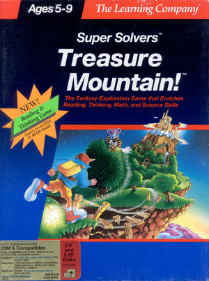 Cover for Treasure Mountain!.