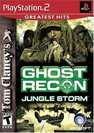 Cover for Tom Clancy's Ghost Recon: Jungle Storm.