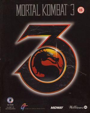 Cover for Mortal Kombat 3.