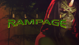 Cover for Alien Rampage.