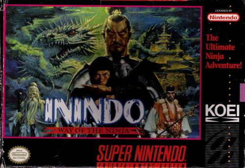 Cover for Inindo: Way of the Ninja.