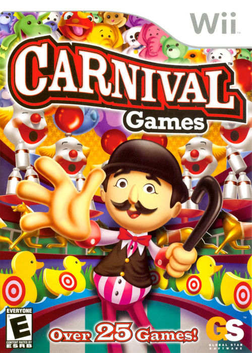 Cover for Carnival Games.