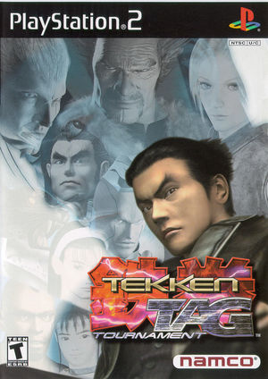Cover for Tekken Tag Tournament.