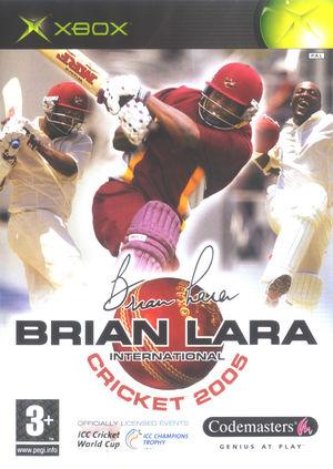 Cover for Brian Lara International Cricket 2005.