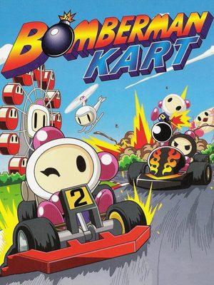 Cover for Bomberman Kart.