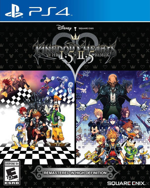 Cover for Kingdom Hearts HD 1.5+2.5 ReMIX.