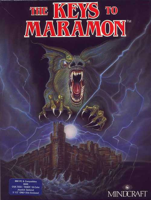 Cover for The Keys to Maramon.
