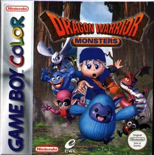 Cover for Dragon Warrior Monsters.