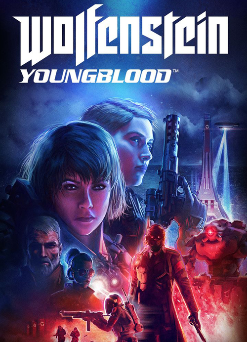 Cover for Wolfenstein: Youngblood.