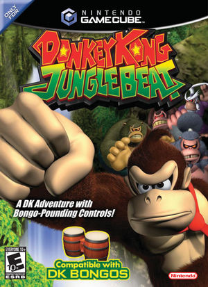 Cover for Donkey Kong Jungle Beat.