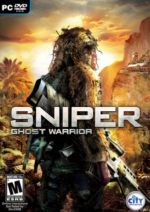 Cover for Sniper: Ghost Warrior.