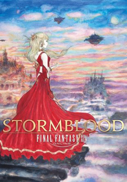 Cover for Final Fantasy XIV: Stormblood.