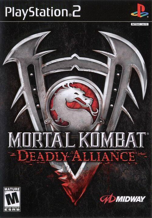 Cover for Mortal Kombat: Deadly Alliance.